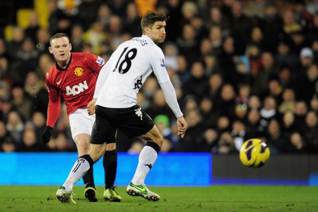 Rooney Sinks Fulham as Man United Surge Clear