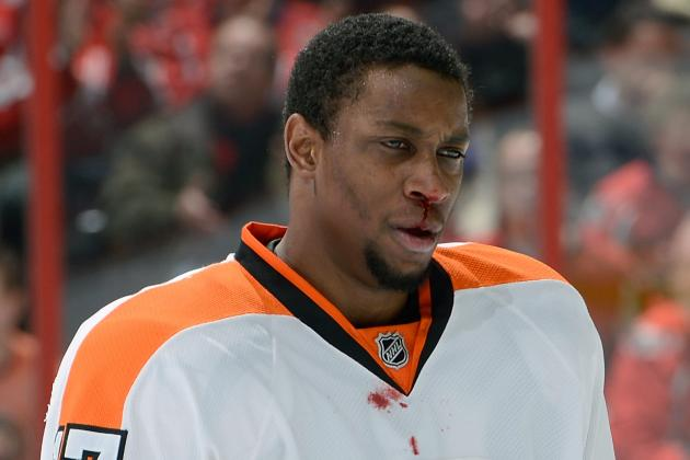 Wayne Simmonds out Tonight vs. Hurricanes After Elbow