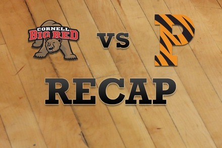 Cornell vs. Princeton: Recap and Stats