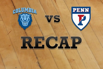 Columbia vs. Penn: Recap and Stats