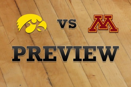 Iowa vs. Minnesota: Full Game Preview