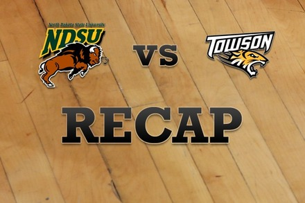 North Dakota State vs. Towson: Recap and Stats