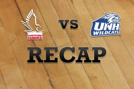 Hartford vs. New Hampshire: Recap and Stats
