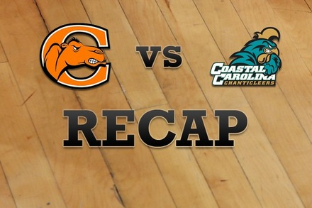 Campbell vs. Coastal Carolina: Recap and Stats