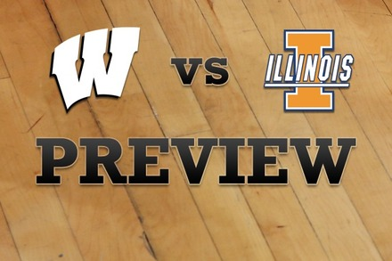 Wisconsin vs. Illinois: Full Game Preview