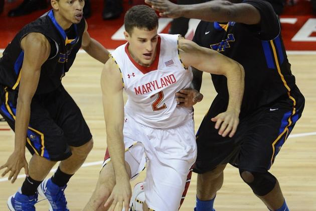 Aronhalt Leads Maryland Past Wake Forest 86-60