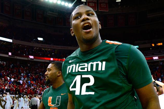 Johnson's Late Tip-in Lifts Miami Past NC State