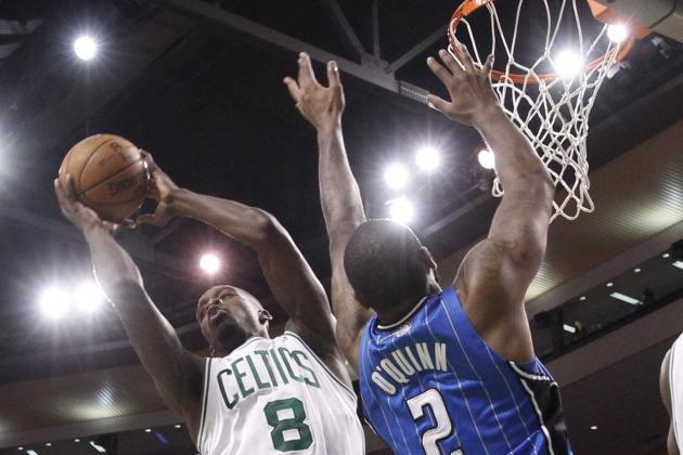 Jeff Green Throws Down Two Monster Dunks on the Magic (VIDEO)