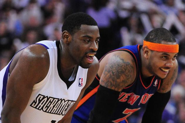 NBA Gamecast: Kings vs. Knicks