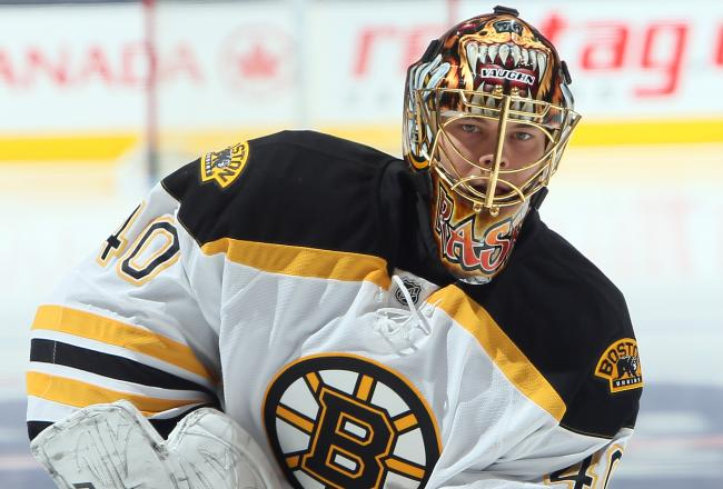 Rask has been solid so far.