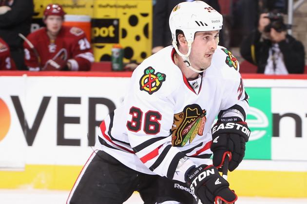 Dave Bolland Day to Day with Right Leg Injury