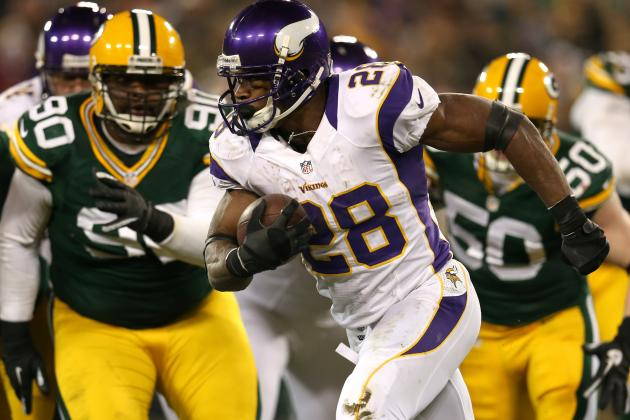 Adrian Peterson Named 2012 Offensive Player of the Year