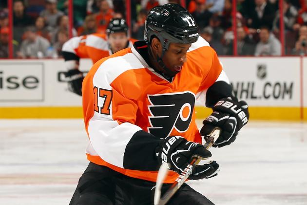 Simmonds out Indefinitely with Concussion