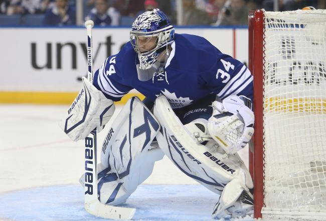 James Reimer has been sharp so far tonight.