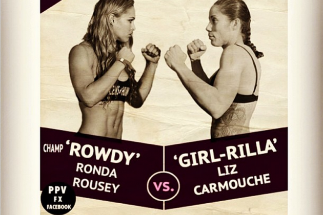 Rousey Reveals New 'Retro Style' Fight Poster