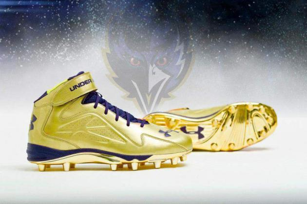 Breaking Down Ray Lewis' 2013 Super Bowl Cleats