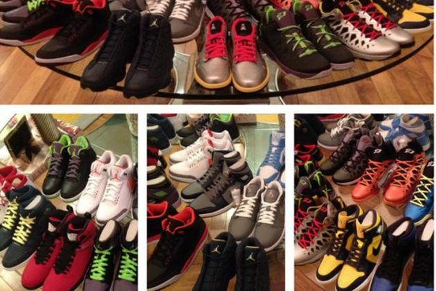 CP3 Shows off His Jordans