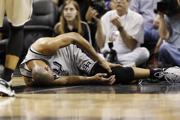 Tim Duncan Right Ankle Sprain, ...