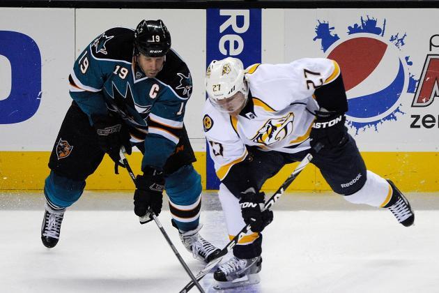 NHL Gamecast: Predators vs. Sharks