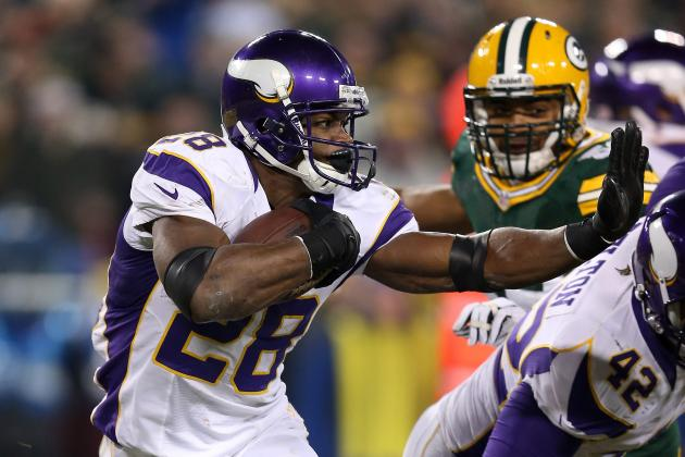 Adrian Peterson: NFL MVP Is Best Running Back in League's History