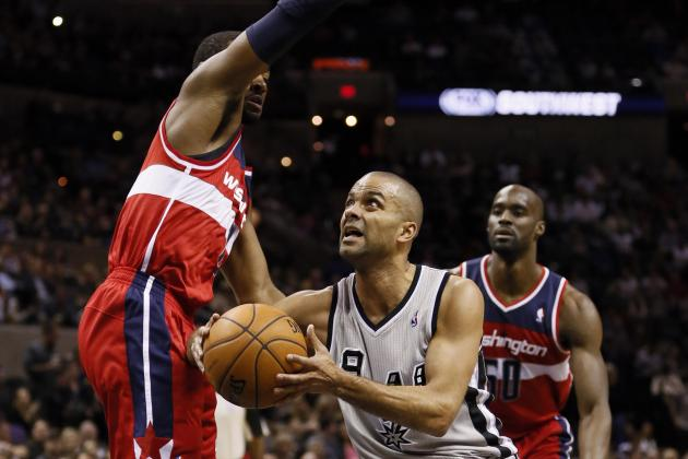 Parker Leads Spurs Past Wizards