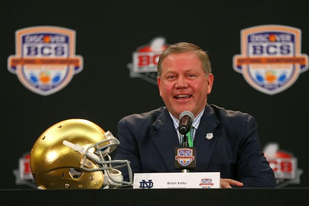 Notre Dame Football Recruiting: 2013 Class Will Be Brian Kelly's Best Yet
