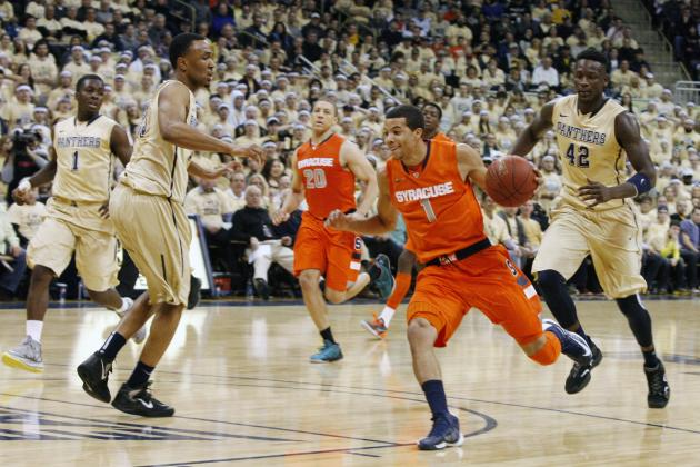 Syracuse Basketball: Orange Upset in Second Straight Game, Lose at Pitt 65-55