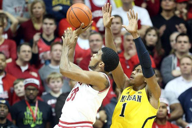 Cody Zeller, No. 3 Indiana knock off No. 1Michigan