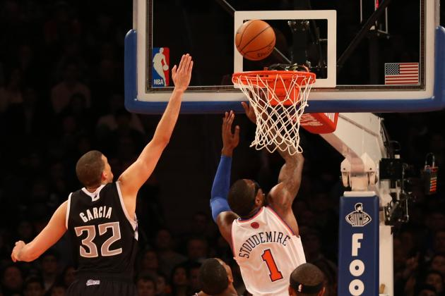 Amar'e Stoudemire Provides Spark as NY Knicks