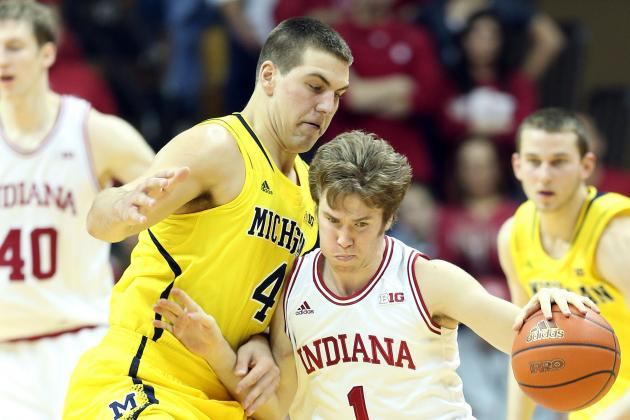 Michigan Punches Back at No. 3 Indiana, but Comes Up Short, 81-73
