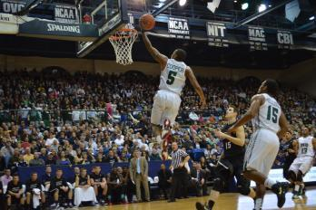 Akron's Hot Shooting, Rebounding Proves Too Much for Ohio
