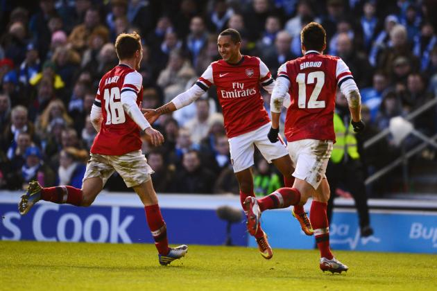 Arsenal's Theo Walcott Believes He Can Lead the English Forward Line