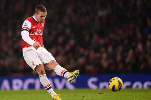 Lukas Podolski Will Help Resurgent Arsenal Stake a Claim for Fourth Place