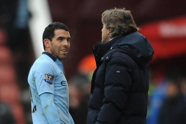 Argy Bargy: Carlos Tevez Heads Massive Man City Summer Clear-Out