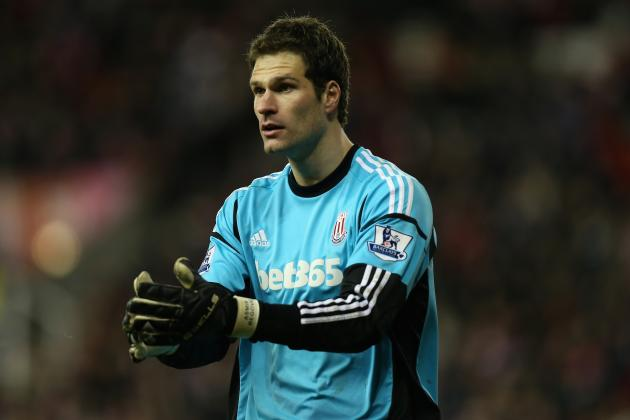 In the Red: Man United WILL Sign £9m Stoke Keeper Asmir Begovic