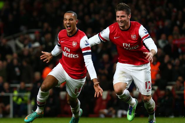 Theo Walcott Wants to Become First Choice Striker for Arsenal and England