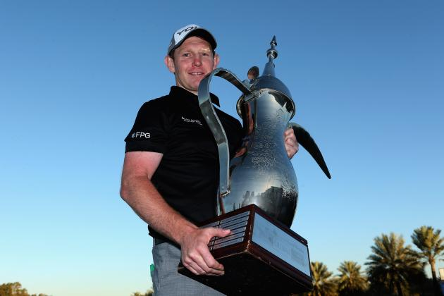 Stephen Gallacher Wins Omega Dubai Desert Classic on European Tour