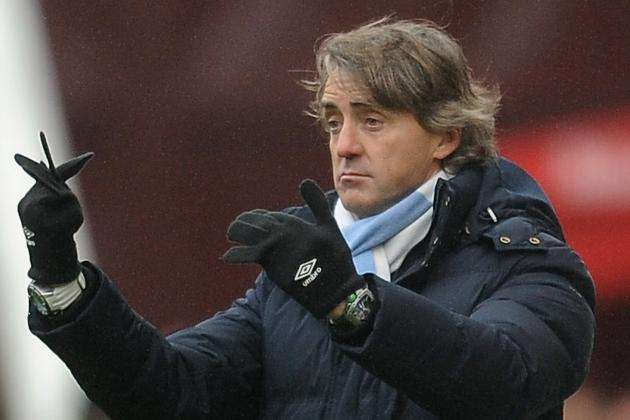 Manchester City Boss Roberto Mancini Drawing Up Summer Transfer Plans