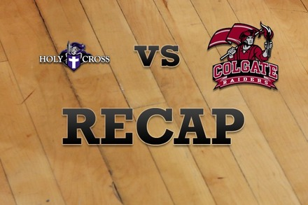 Holy Cross vs. Colgate: Recap and Stats