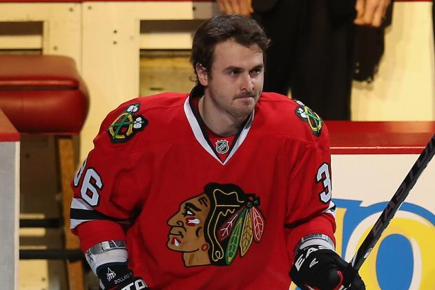 Blackhawks' Scoring Cause for Concern; Dave Bolland Day-to-Day