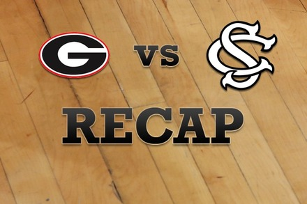 Georgia vs. South Carolina: Recap and Stats