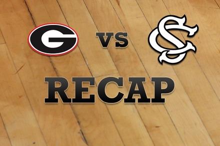 Georgia vs. South Carolina: Recap and Stats