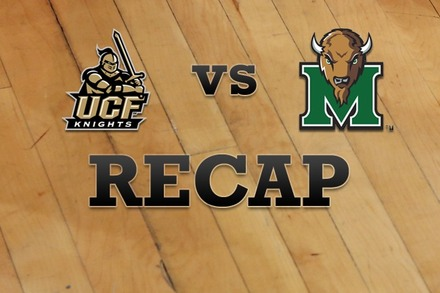UCF vs. Marshall: Recap and Stats