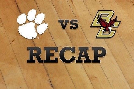 Clemson vs. Boston College: Recap and Stats
