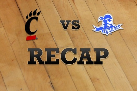 Cincinnati vs. Seton Hall: Recap and Stats