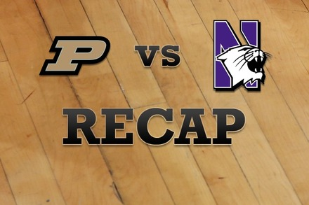 Purdue vs. Northwestern: Recap and Stats