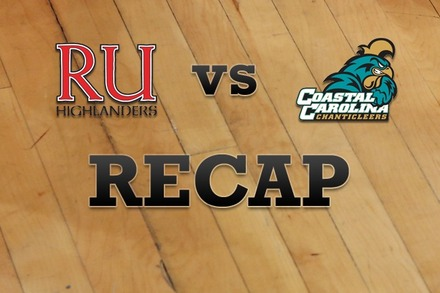 Radford vs. Coastal Carolina: Recap and Stats