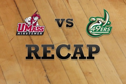 Massachusetts vs. Charlotte: Recap and Stats