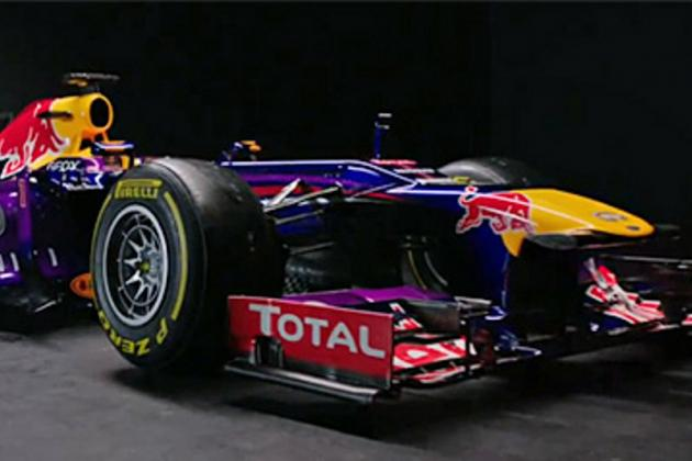 Red Bull Unveil Purple Stepped-Nose RB9