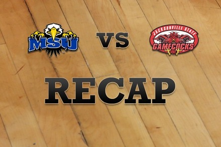 Morehead State vs. Jacksonville State: Recap and Stats